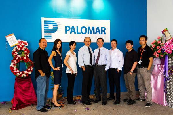 Palomar Technologies Singapore microelectronics manufacturing center