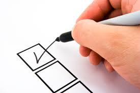 service contract, checklist