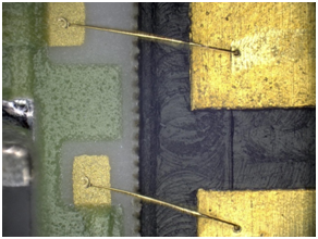 gold wire bonding