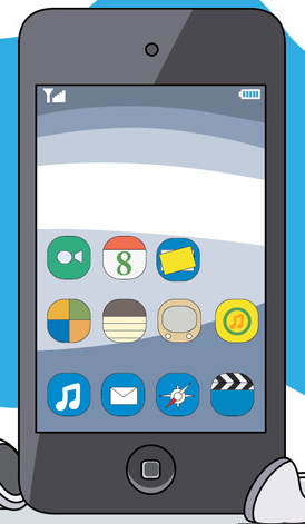 iphone clipart