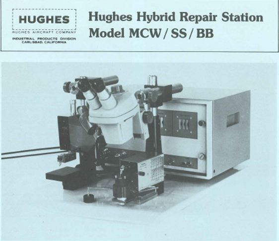 Hughes Aircraft, Hughes Aircraft Industrial Products Division, Hughes Model MCW/SS/BB