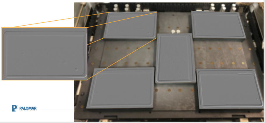X-Ray inspection of SAC305 solder preform