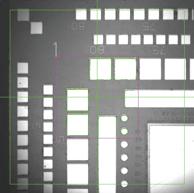 Radar Referencing finds shapes by dividing contrasting shapes