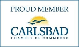 Proud Member Carlsbad Chamber of Commerce