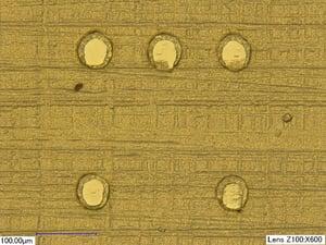 gold planar bumps blog