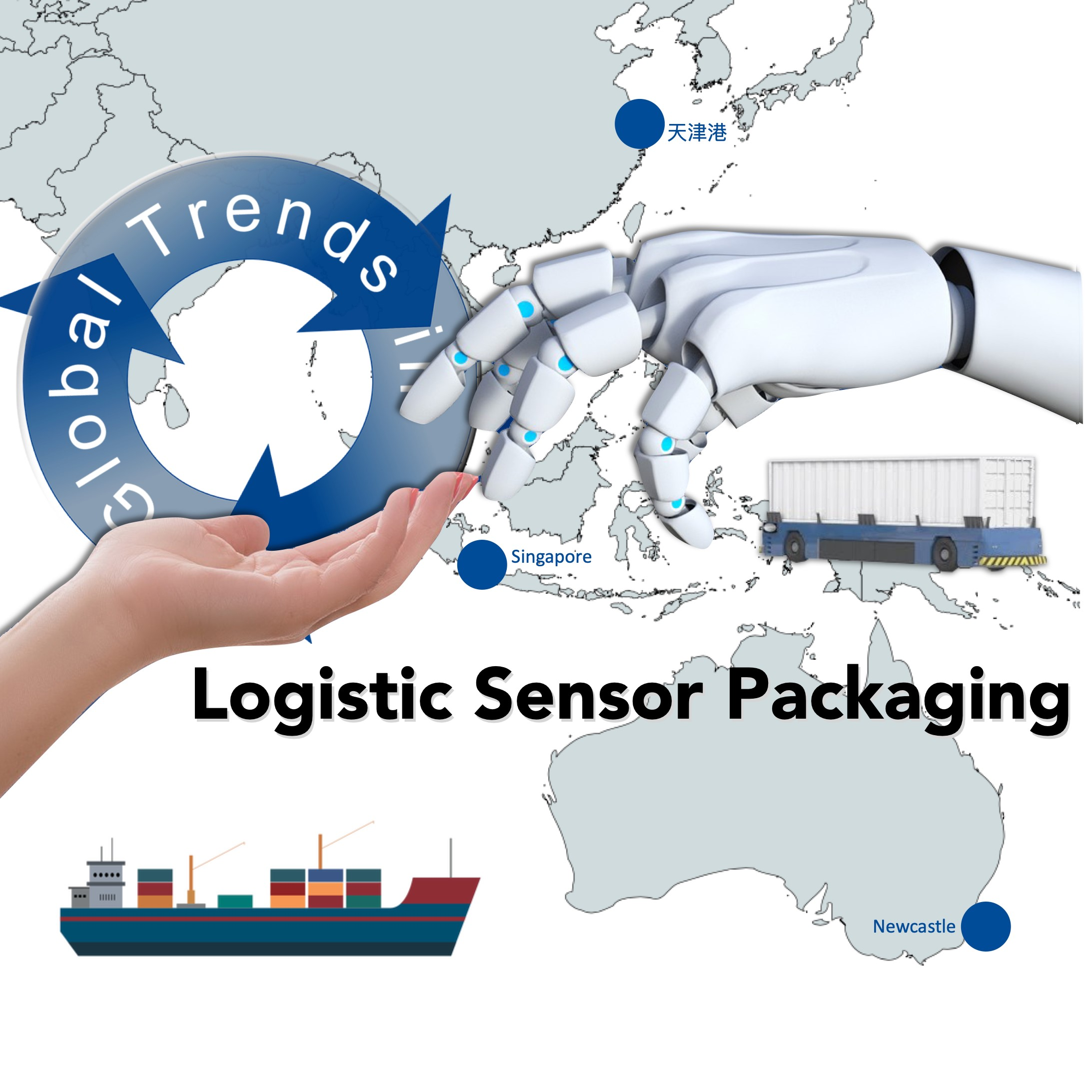 Logistic Sensor Packaging