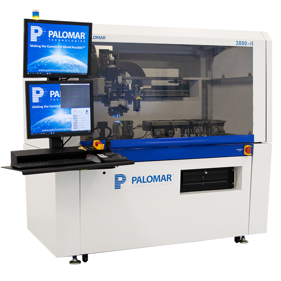 Palomar Technologies' new 3880-II Die Bonder Maximizes Productivity from R&D to Volume, Automated Bonding