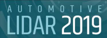 Automotive LIDAR 2019: Sept. 25-26