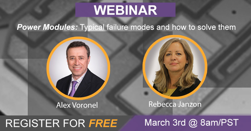 Event Image - WEBINAR: Power Modules: Typical failure modes and how to solve them